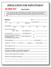 Forks Outfitters Employment Application