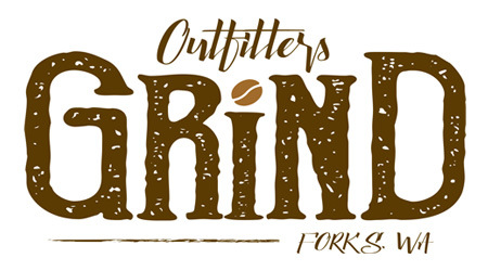 Outfitters Grind Logo for Espresso Shop